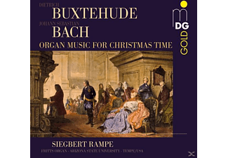 Siegbert Rampe - Organ Music For Christmas Time - (CD)