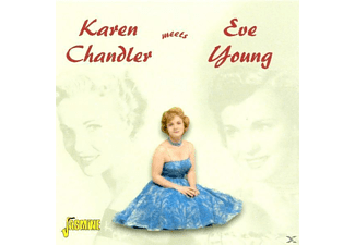 Karen Chandler - Karen Chandler Meets Eve Young - (CD)