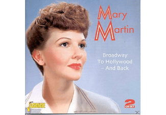 Mary Martin - Broadway To Hollywood-And Back - (CD)