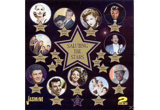 VARIOUS - Saluting The Stars - (CD)
