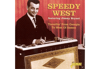 West, Speedy / Bryant, Jimmy - Travellin' From Georgia To West Of Samoa - (CD)
