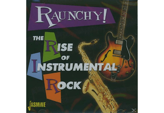VARIOUS - RAUNCHY! RISE OF INSTRUMENTAL ROCK - (CD)