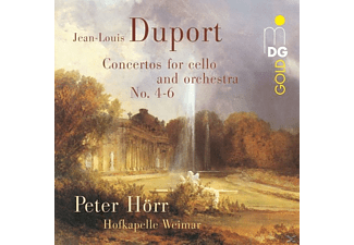 Hofkapelle Weimar, Peter Hörr - Comcertos For Cello And Orchestra N - (CD)