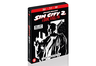 Sin City 2: A Dame For A Kill 3D (Steelbook) | 3D Blu-ray