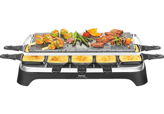 tefal pr4578 pierrade raclette 10 stein mediamarkt. Black Bedroom Furniture Sets. Home Design Ideas