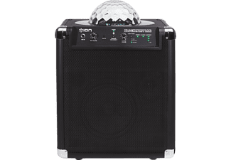 ION Block Party Live, Mobiles Bluetooth Soundsystem, Schwarz