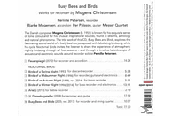 Petersen/Mogensen/Palssson - Busy Bees And Birds [CD]