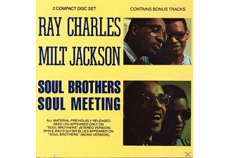 Ray Charles & Milt Jackson - Soul Brothers/Soul Meeting (CD)