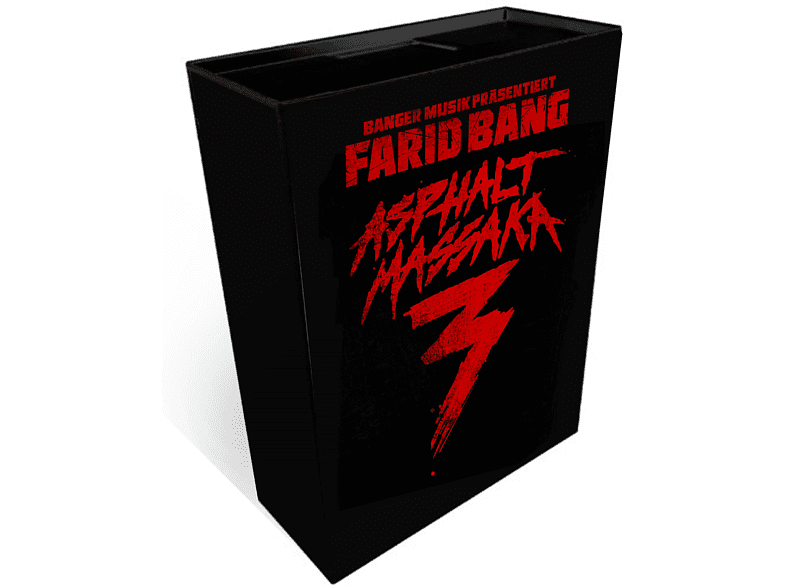 Farid Bang - Asphalt Massaka 3 (Limited Deluxe Box Edition) [CD + DVD]