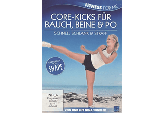 FITNESS FOR FOR ME-CORE-KICKS F. BAUCH BEINE PO - (DVD)