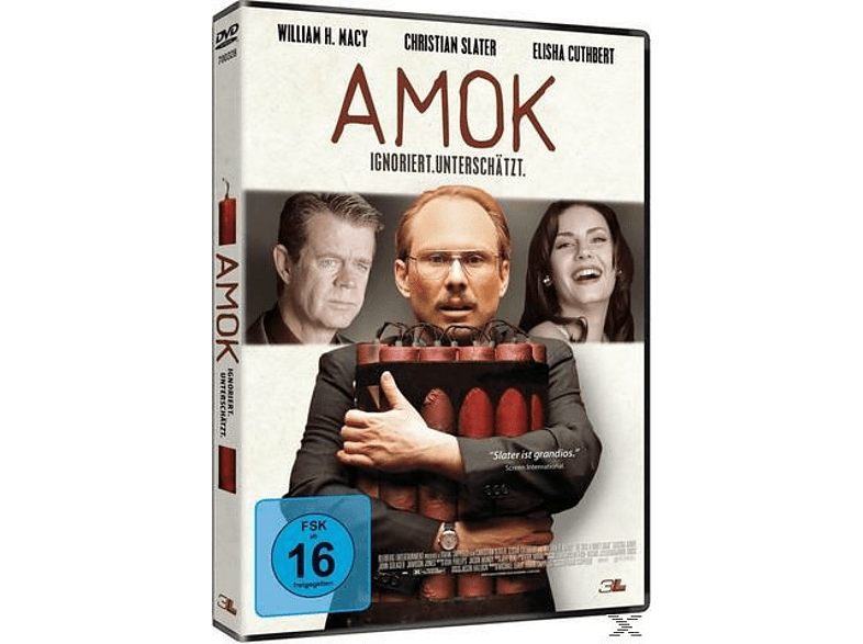 Amok - He was a quiet man [DVD]