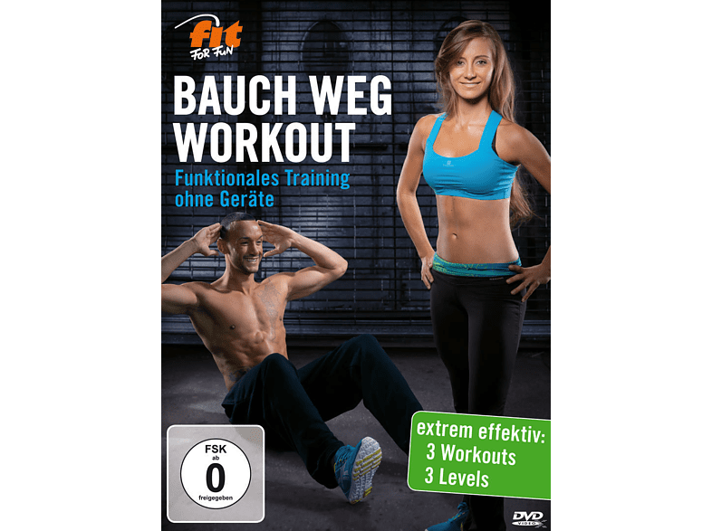 Fit For Fun - BAUCH WEG WORKOUT - Funktionelles Training ohne Geräte [DVD]