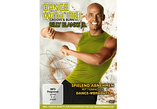 Dance With Me - Groove + Burn mit Billy Blanks Jr. - (DVD)
