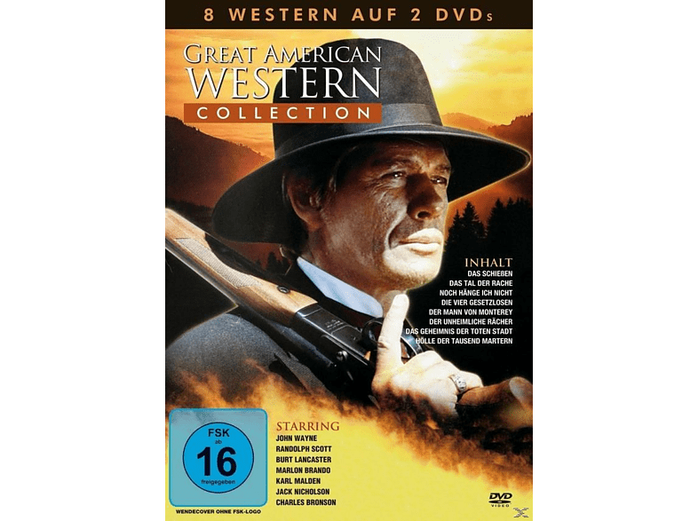Great American Western Collection (8 Filme) [DVD]