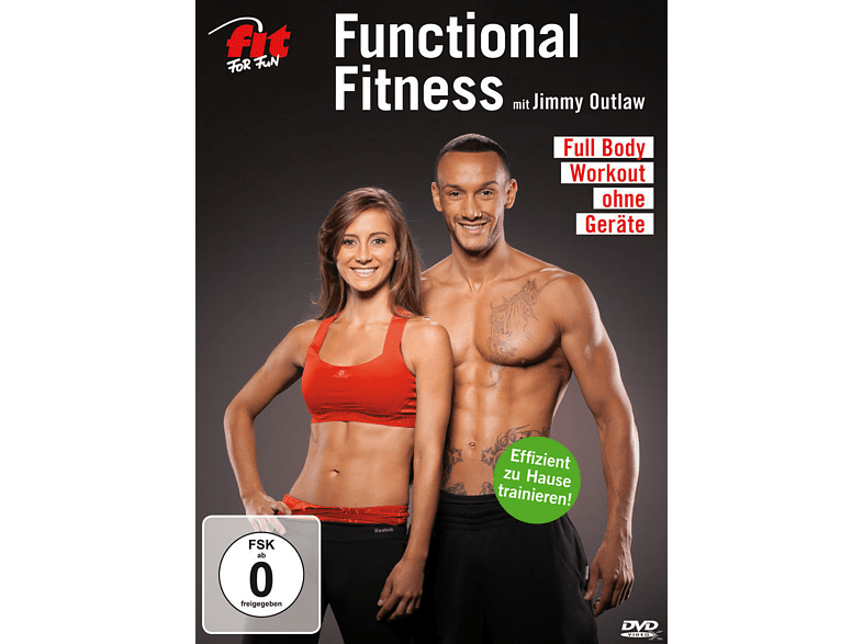 Fit For Fun - Functional Fitness mit Jimmy Outlaw - Full Body Workout ohne Geräte [DVD]
