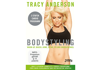 Tracy Anderson: Bodystyling-Sammelbox - Stufe 1-3 - (DVD)