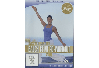 Johanna Fellner – Das ultimative Bauch Beine Po - Workout [DVD]