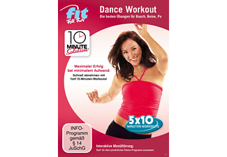 10 Minute Solution: Dance Workout - Bauch, Beine, Po - (DVD)