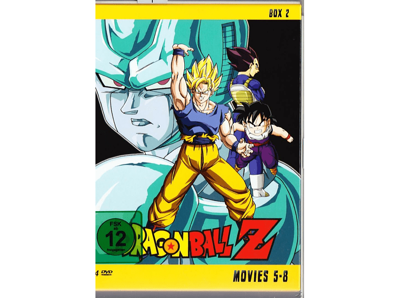 Dragonball Z - Movies 5-8 [DVD]