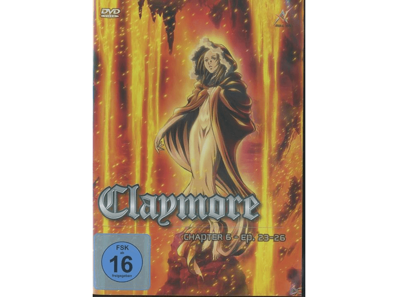 Claymore - Vol. 6 [DVD]