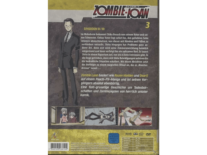 Zombie Loan - Vol. 3 [DVD]