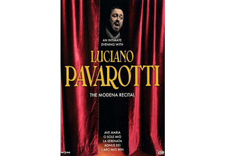 Luciano Pavarotti - An Intimate Evening-The Modena Recital - (DVD)
