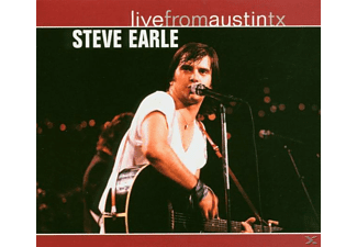 Steve Earle - Live From Austin TX - (CD)