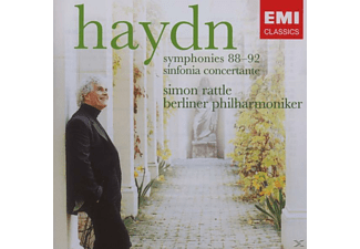 Carl August Nielsen, Simon/bp Rattle - Sinfonien 88-92 [CD]