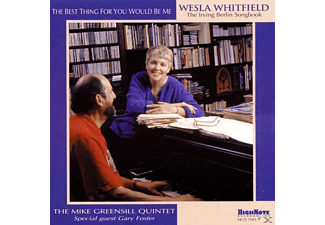 Wesla Whitfield - The Best Thing For You Would Be Me - (CD)