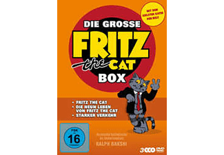 Die grosse Fritz the Cat Box - (DVD)