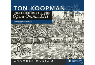 Ton Koopman, Members Of Abo - Opera Omnia XIII-Chamber Music Vo - (CD)
