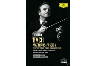 VARIOUS, Karl Richter / Various - MATTHÄUS-PASSION (GA) - (DVD)