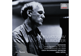 Sviatoslav Richter, The Czech Philharmonic Orchestra - Klavierkonzerte 1 & 3 - (CD)