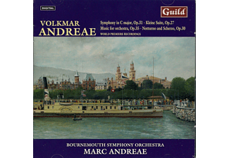 Bournemouth Symphony Orchestra, Marc Andreae - Symphony in C/Notturno/Kleine Suite - (CD)