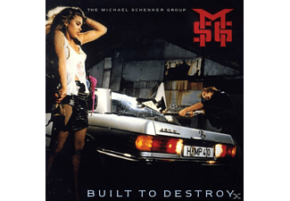 Michael Schenker Group - Built To Destroy-Remaster (CD)