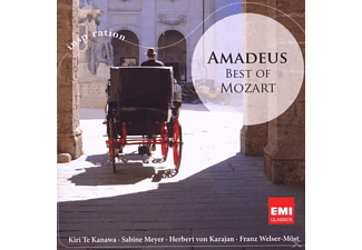 VARIOUS - AMADEUS-BEST OF MOZART - (CD)
