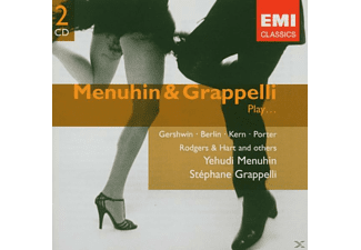 Yehudi Menuhin, Stéphane Grappelli - Menuhin & Grapelli Play...(Df) - (CD)