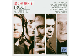 VARIOUS, Causse, G.&R. Capucon, Braley - Forellenquintett - (CD)