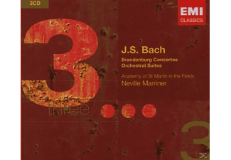 VARIOUS - Bach  Brandenburg Conc  3cd 07 [CD]