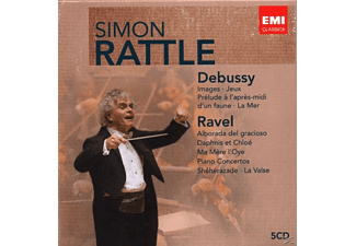 Simon Rattle - Debussy/Ravel-Box - (CD)