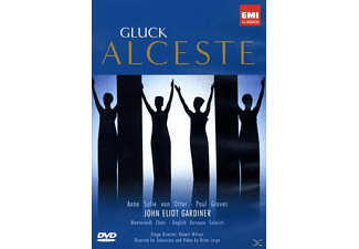 Anne Sofie Von Otter, Paul Groves, Monteverdi Choir, The English Baroque Soloists - Alceste - (DVD)