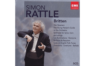 Cbso - Rattle-Edition:Britten - (CD)