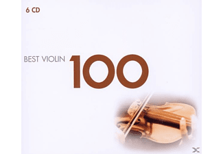 VARIOUS - 100 Best Violin [CD]