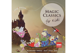 VARIOUS - MAGIC CLASSICS-FOR KIDS - (CD)