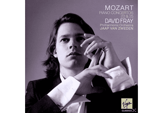 David Fray, Pol, Zweden - Klavierkonzerte 22 & 25 [CD]