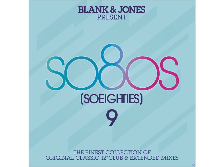 Blank & Jones - Present So80s (So Eighties) 9 (Deluxe Box) [CD]