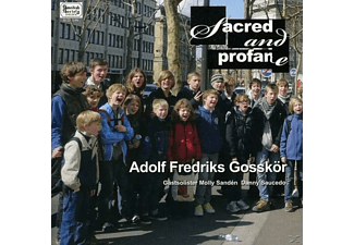 Adolf Fredriks Gosskor - Sacred And Profane - (CD)