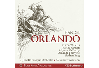 Willetts/Gauvin/McHardy/Forsythe/Berg/We - Handel: Orlando - (CD)