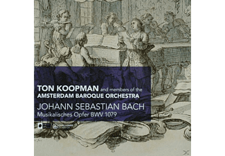 Ton Koopman, Ton & Members Of Amsterdam Baroque Orches Koopman - Musikalisches Opfer BWV 1079 - (CD)