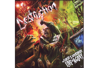 Destruction - The Curse Of The Antichrist-Live Agony - (CD)